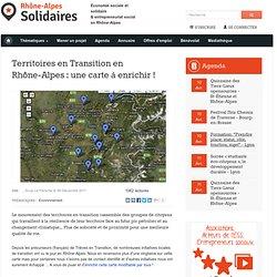 Territoires en Transition en Rhône-Alpes : une carte à enrichir !