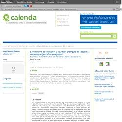 E-commerce et territoires : nouvelles pratiques de l'espace, nouveaux enjeux d'aménagement