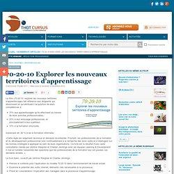 70-20-10 Explorer les nouveaux territoires d'apprentissage