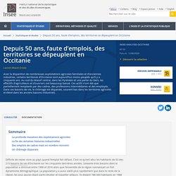 Depuis 50 ans, faute d'emplois, des territoires se dépeuplent en Occitanie - Insee Analyses Occitanie - 93
