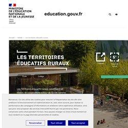 Les territoires éducatifs ruraux