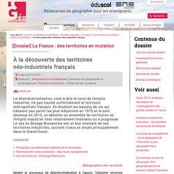À la découverte des territoires néo-industriels français