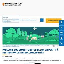 Parcours SUD Smart Territoires : un dispositif à destination des intercommunalités -
