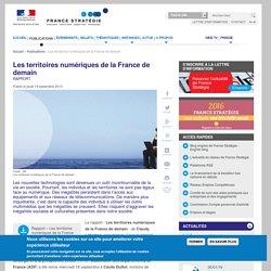 Les territoires numériques de la France de demain