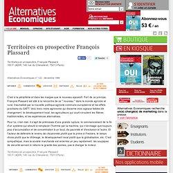 Territoires en prospective François Plassard