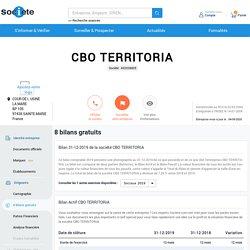 CBO TERRITORIA à STE MARIE (97438), bilan gratuit 2019, sur SOCIETE.COM (452038805)