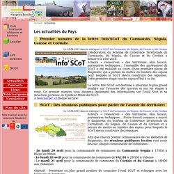 Pôle Territorial de l'Albigeois et des Bastides Les actualités du Pays