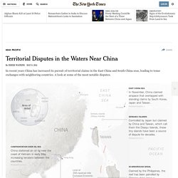 Territorial Disputes in the Waters Near China