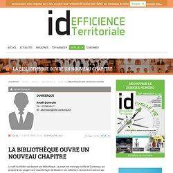 ID Territoriale - La bibliothèque ouvre un nouveau chapitre