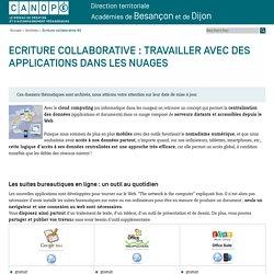 Canopé académie de Besançon : Écriture collaborative #2