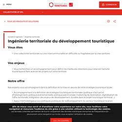 Ingénierie territoriale du développement touristique