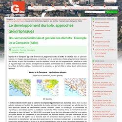 Le développement durable, approches géographiques