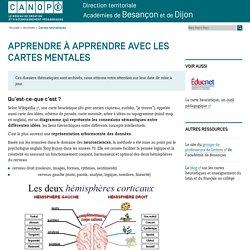 Canopé académie de Besançon : Cartes heuristiques