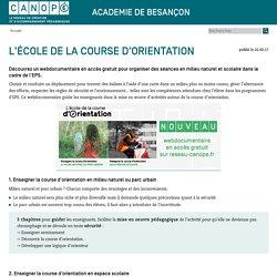L'école de la course d'orientation - Webdoc en accès gratuit
