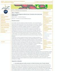 ESPACE - Thèmes de recherche 2012-2017 - Axe 2 : Devenir des systèmes territoriaux : de l'analyse des tensions à l'anticipation des changements