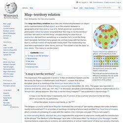 Map–territory relation - Wikipedia