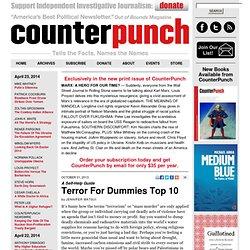 Terror For Dummies Top 10