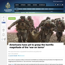 US 'War on Terror' Remains Poorly Understood