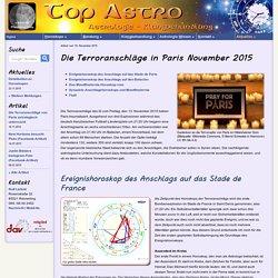Die Terroranschläge von Paris 2015 - astrologische Untersuchung