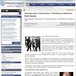 "Terrorism with a ""Human Face"": The History of America's Death Squads"
