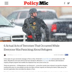 6 Actual Acts of Terrorism That Occurred While Everyone Was Panicking About R...