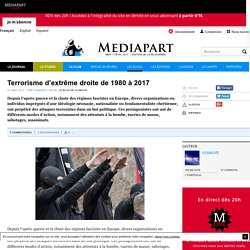 Terrorisme d'extrême droite de 1980 à 2017
