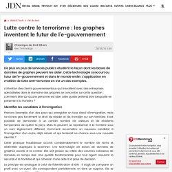 Lutte contre le terrorisme : les graphes inventent le futur de l'e-gouvernement