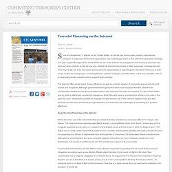Terrorist Financing on the Internet