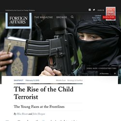 The Rise of the Child Terrorist