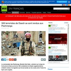 300 terroristes de Daesh se sont rendus aux Peshmerga