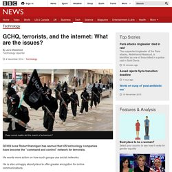 GCHQ, terrorists, and the internet: What are the issues?