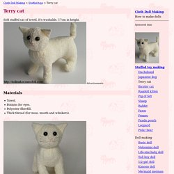 Terry Cat How to make