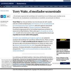 Terry Waite, el mediador secuestrado