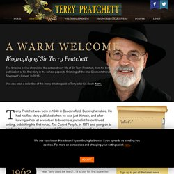 Terry Pratchett Biography