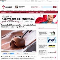 Terveellistä herkkusuille - valmista kolmen raaka-aineen suklaapehmis! - Iskelmä - Parhaita kotimaisia