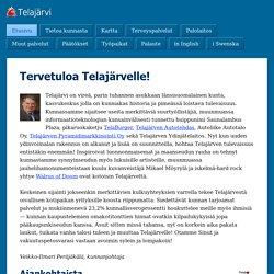 Telajärven kunta - Telajärvi kommun