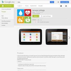 Gestionnaire de la santé – Applications Android sur GooglePlay