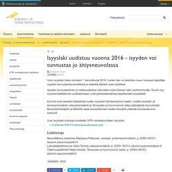 Isyyslaki uudistuu vuonna 2016 - isyyden voi tunnustaa jo äitiysneuvolassa - Artikkeli - Sosiaali- ja terveysministeriö