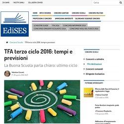 TFA 2016 terzo ciclo: tutte le novità in attesa del bando