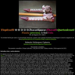 Macuilli Tescatlipoca Ehecatl Quetzalcoatl Flauta Cinco Sol Viento Serpiente