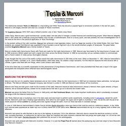 Tesla & Marconi