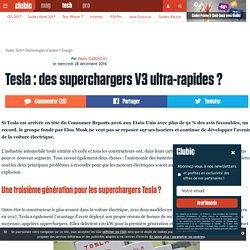 Tesla: des superchargers V3 ultra-rapides?