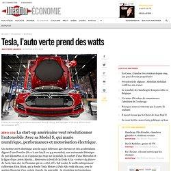 Tesla, l'auto verte prend des watts