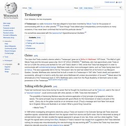 Teslascope