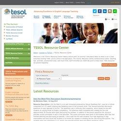 TESOL Resource Center
