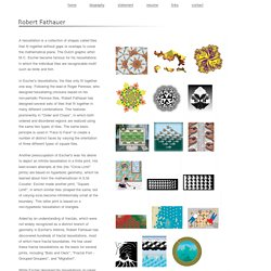 The Tessellation Art of Robert Fathauer