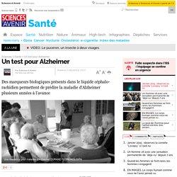 Un test pour Alzheimer - 11 août 2010