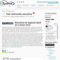 Test Articulate storyline