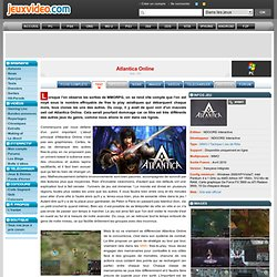 Test de Atlantica Online sur PC