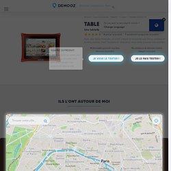 Test et Avis Tablette QOOQ V4 - Demooz.com